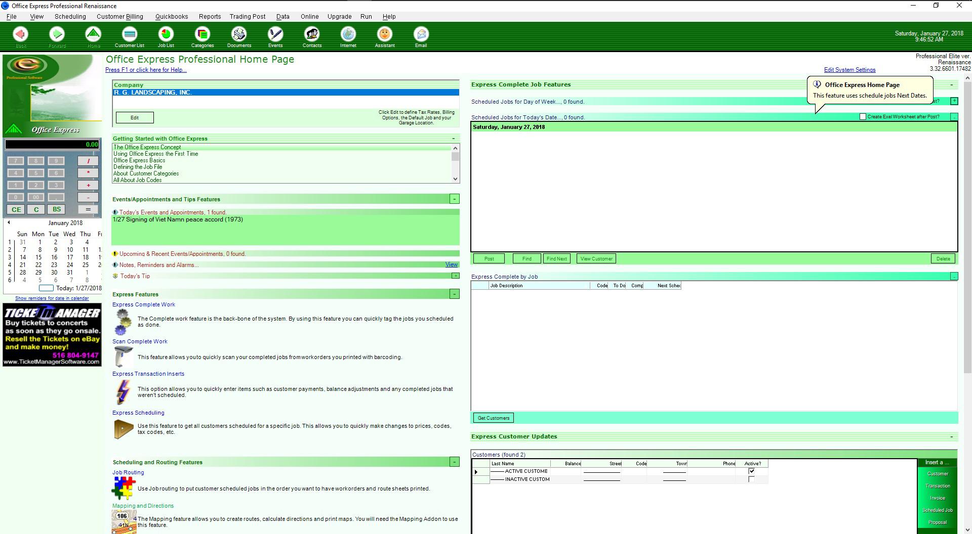 landscape gardener billing software